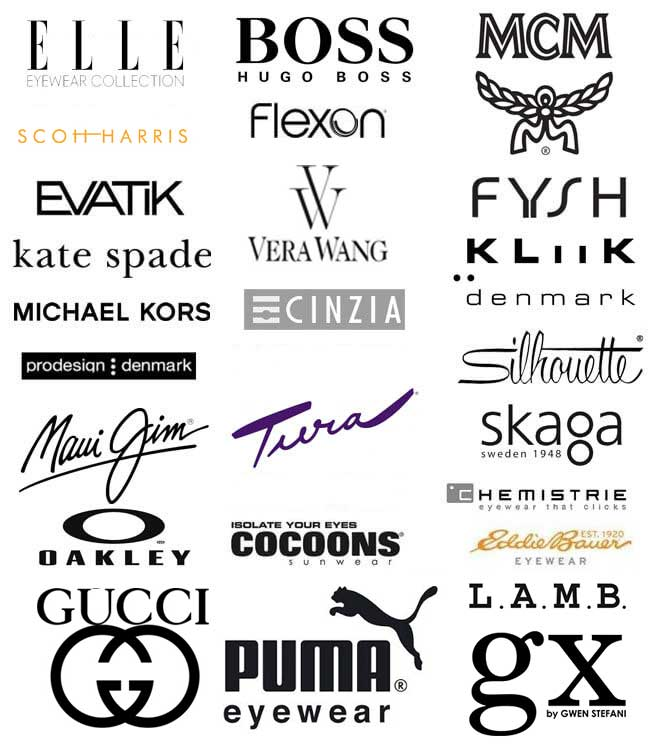 Collage of brands we carry